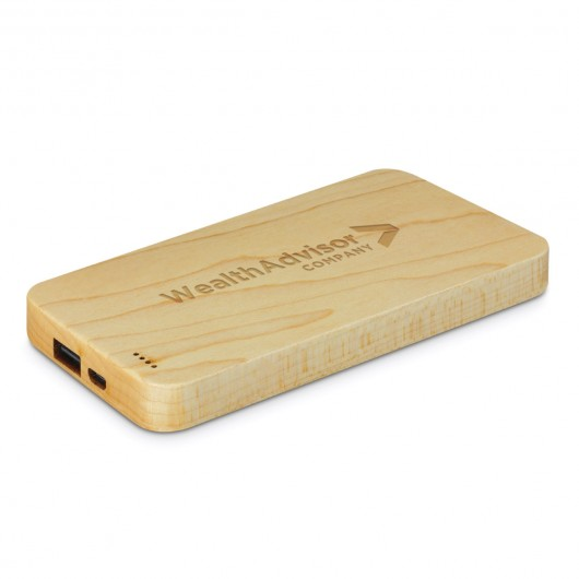 Wood Power banks
