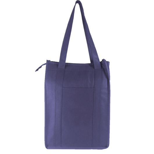 NavyZipperCoolerBags