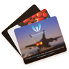 205mm x 145mm x 1mm Deluxe Mouse Mats