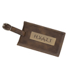 AGRADE Sueded Leatherette Luggage Tags