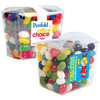 Assorted Mini Colour Jelly Beans in Clear Boxes