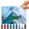 Colourful Twister on Backing Cards