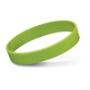 Embossed Silicone Bands Bright Green
