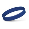 Embossed Silicone Bands Dark Blue