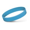 Embossed Silicone Bands Light Blue