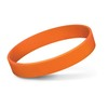 Embossed Silicone Bands Orange