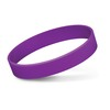 Embossed Silicone Bands Purple