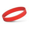 Embossed Silicone Bands Red