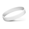 Embossed Silicone Bands White