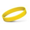 Embossed Silicone Bands Yellow