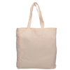 Express Calico Shopping Bags with Gusset