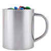 M&M's in Stainless Steel Mugs
