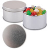 Mini Jelly Beans in Silver Round Tins