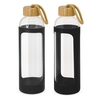 Silicone Canterbury Glass Bottles Black