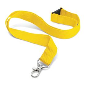 Yellow20mmUltimoLanyards