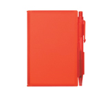 Plastic Notepad with Pen